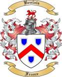 Boulais Family Crest from France