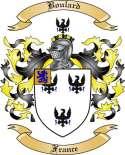 Boulard Family Crest from France