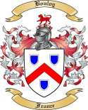 Bouloy Family Crest from France