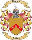 Boulton Family Crest from Ireland