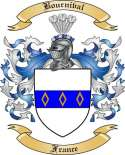 Bournival Family Crest from France