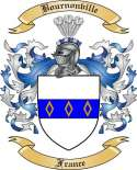 Bournonville Family Crest from France