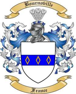 Bournoville Family Crest from France