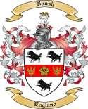 Boush Family Crest from England2