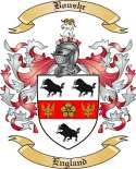 Boushe Family Crest from England2