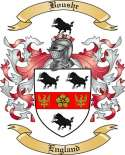 Boushe Family Crest from England