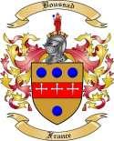 Boussad Family Crest from France