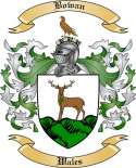 Bowan Family Crest from Wales2
