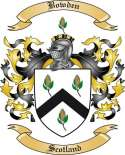 Bowden Family Crest from Scotland