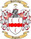 Bowdridge Family Crest from England