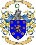 Bowens Family Crest from Wales