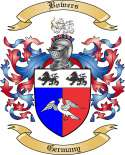 Bowers Family Crest from Germany