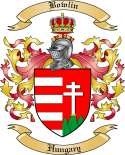 Bowlin Family Crest from Hungary