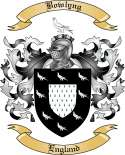 Bowlyng Family Crest from England