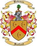 Bowman Family Coat of Arms from Scotland
