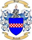 Boyd Family Coat of Arms from Ireland