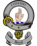 Boyd Family Coat of Arms from Scotland Clan Badge