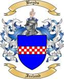 Boyds Family Crest from Ireland