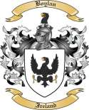Boylan Family Crest from Ireland