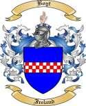 Boyt Family Crest from Ireland