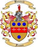Bozzard Family Crest from France