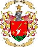 Brackbill Family Crest from Germany