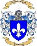 Brackenbush Family Crest from Germany