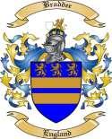 Braddee Family Crest from England