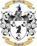 Bradforth Family Crest from England