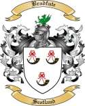 Bradfute Family Crest from Scotland