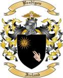 Bradigan Family Crest from Ireland2