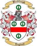 Bradlaugh Family Crest from England
