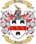 Bradley Family Crest from Ireland