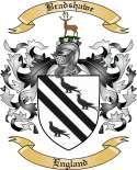 Bradshawe Family Crest from England