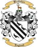 Bradshor Family Crest from England