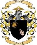 Brady Family Crest from Ireland2