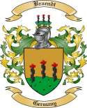 Braendt Family Crest from Germany