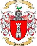 Braga Family Crest from Portugal