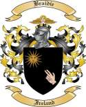 Braidie Family Crest from Ireland2