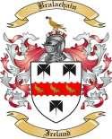 Bralachain Family Crest from Ireland