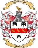 Brallachain Family Crest from Ireland