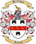 Brallahan Family Crest from Ireland