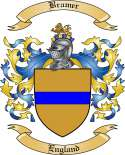 Bramer Family Crest from England