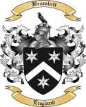 Bramlatt Family Crest from England