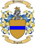 Brammar Family Crest from England