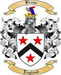Branc Family Crest from England