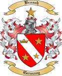 Branch Family Crest from Germany