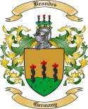 Brandes Family Coat of Arms from Germany