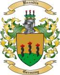 Brandis Family Crest from Germany