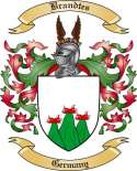 Brandtes Family Crest from Germany2